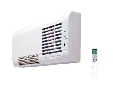 マックス 洗面室暖房機(壁付タイプ) 【BS-K150WL】 リモコン付/涼風機能付