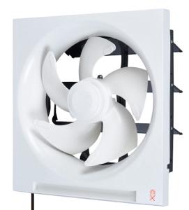 三菱電機*MITSUBISHI* 標準換気扇 【EX-25LP6】 普及タイプ 連動式シャッター 引きひも付 電源コード(プラグ付)