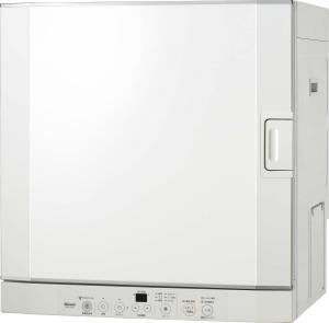 リンナイ ガス衣類乾燥機 乾太くん RDT-52S 扉左開き 乾燥容量5kg ガスコード接続タイプ