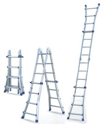 【送料無料】アルミはしご兼用脚立 コンパクトラダー AKR-4M【代引き不可】