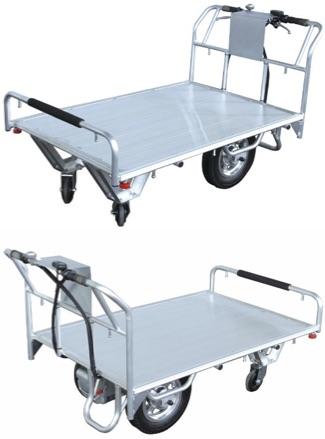 【送料無料】国産 電動運搬車両 電動平台車【代引き不可】