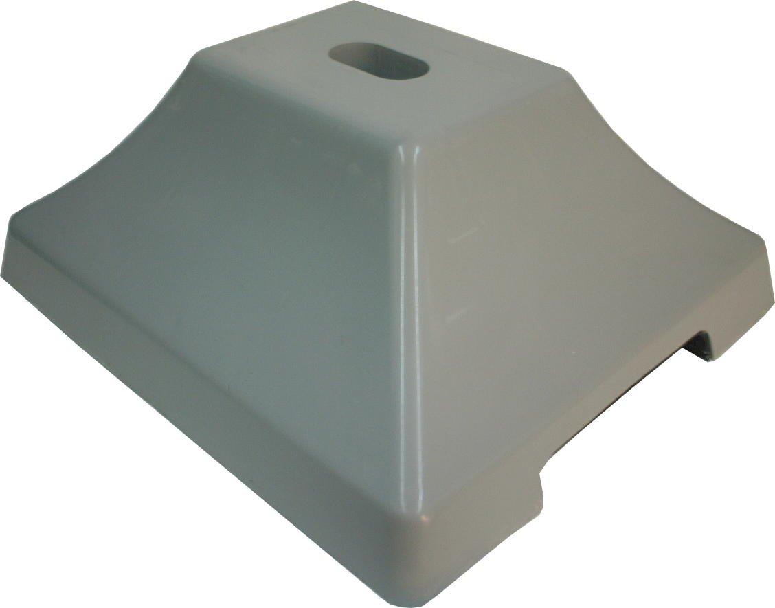 コンクリートベースで 安定感抜群!! ステンレス物干し台用コンクリートベース(PPカバー)2個 S5-3用樹脂製カバー付 コンクリートベースのみ【代引き不可】
