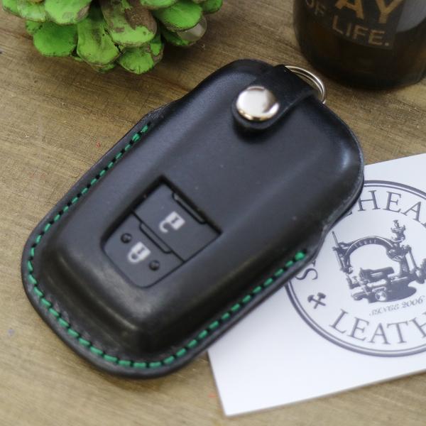 Toyota RAV4 Blue Leather Key Ring