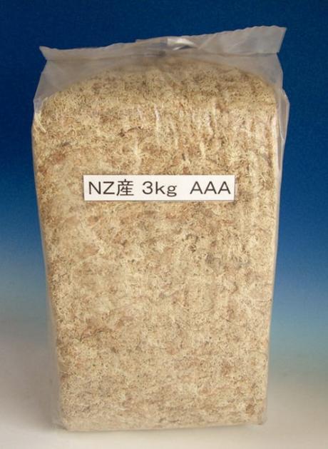 ニュージーランド産AAAランク水苔3kg/