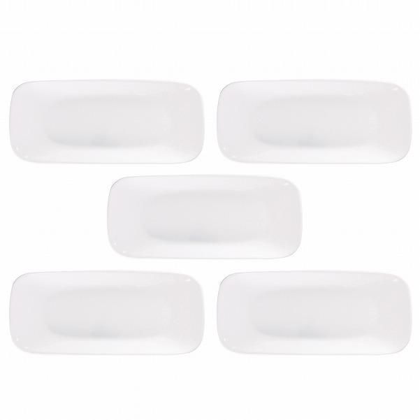 コレール 食器 /コレール ウインターフロストホワイトスクエア長皿[5枚セット]CP-8907/【送料無料】