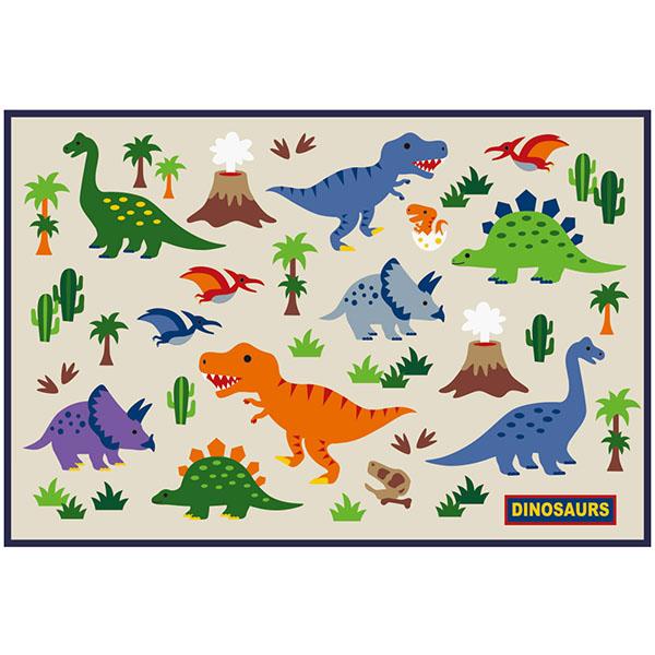 ディノサウルス 恐竜 ジュラシック 男の子 返品不可 本日の目玉 レジャーマット 敷物 一人用 コンパクト 小さめ 遠足 子供用 普通郵便送料無料 VS1 シート 保育園 幼稚園 SKA 90×60cm レジャーシート スケーター