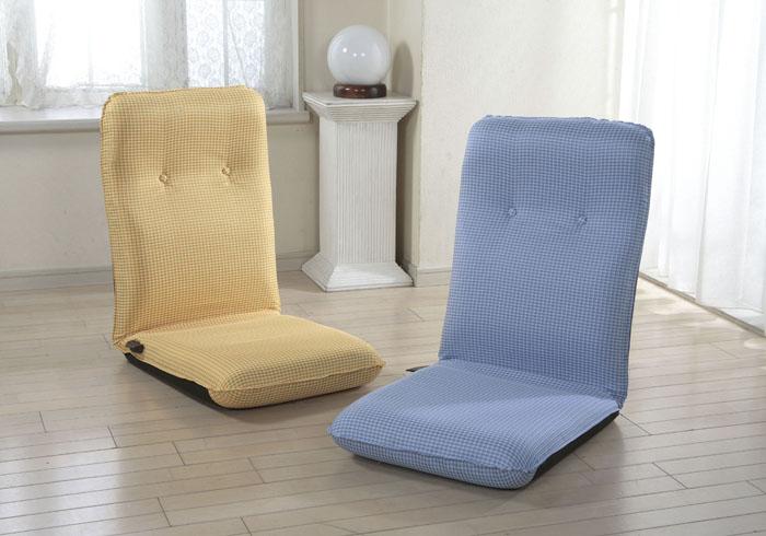 レバーリクライニング式ハイバック座椅子【2個セット】【直】/10P03Dec16