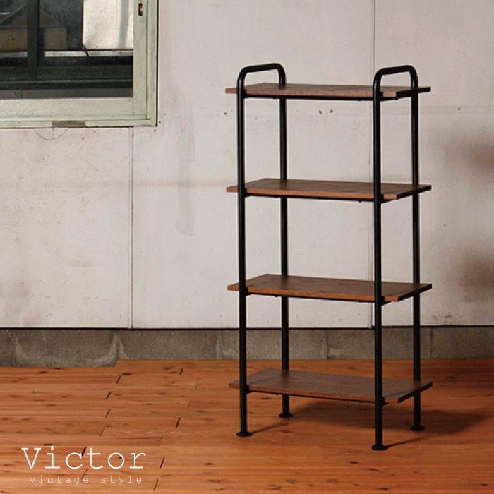 ラック 木製 スチール / ヴィクター ラック60L VCT-R60-4 victor rack60L【P10】/10P03Dec16【送料無料】
