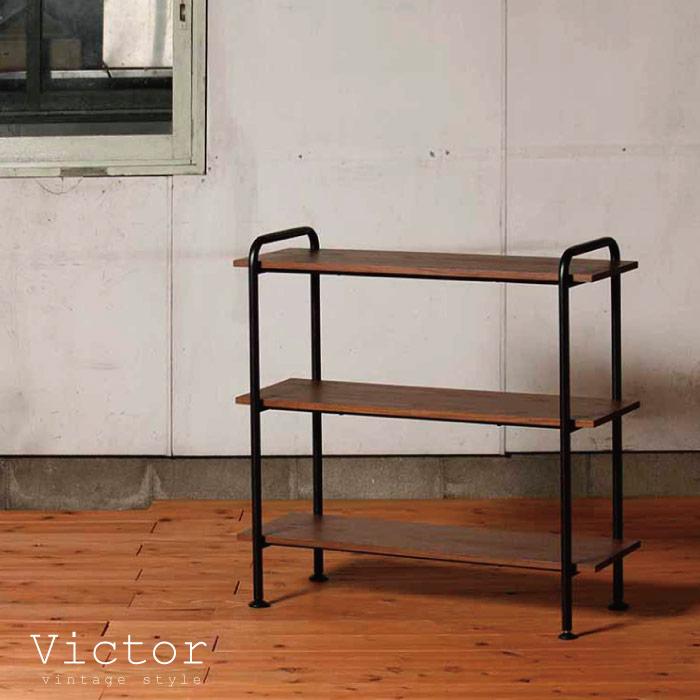 ラック 木製 スチール / ヴィクター ラック90S VCT-R90-3 victor rack90S【P10】/10P03Dec16【送料無料】