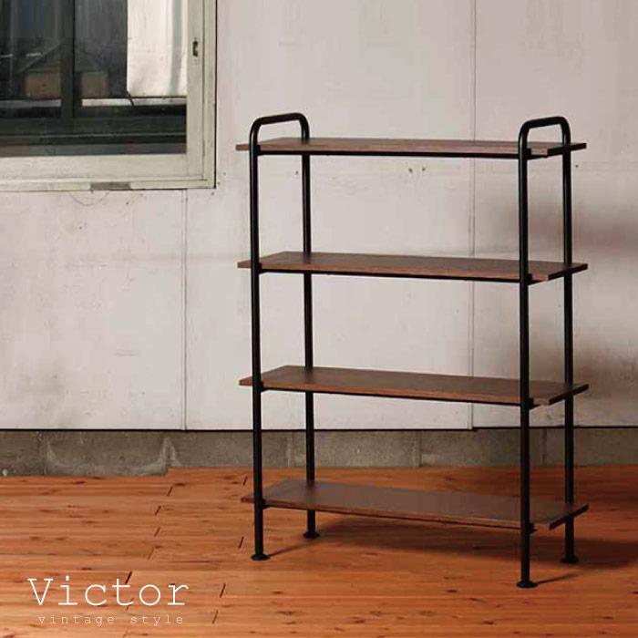 ラック 木製 スチール / ヴィクター ラック90L VCT-R90-4 victor rack90L【P10】/10P03Dec16【送料無料】