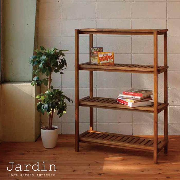 ラック 木製 / ジャルダン ラックL MHO-R904 jardin rack L 【P10】/10P03Dec16【送料無料】