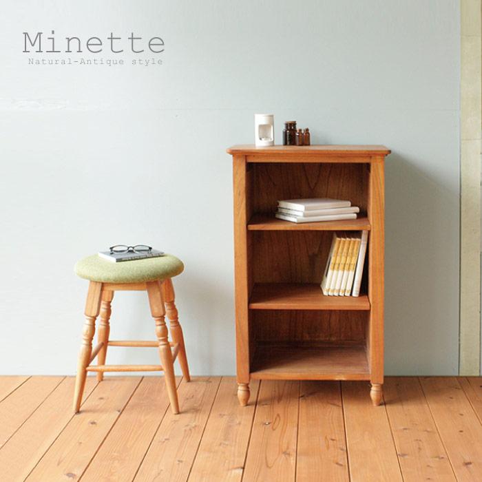 シェルフ アンティーク / ミネット ブックシェルフS MNT-BS50 minette book shelf S 【P10】/10P03Dec16【送料無料】