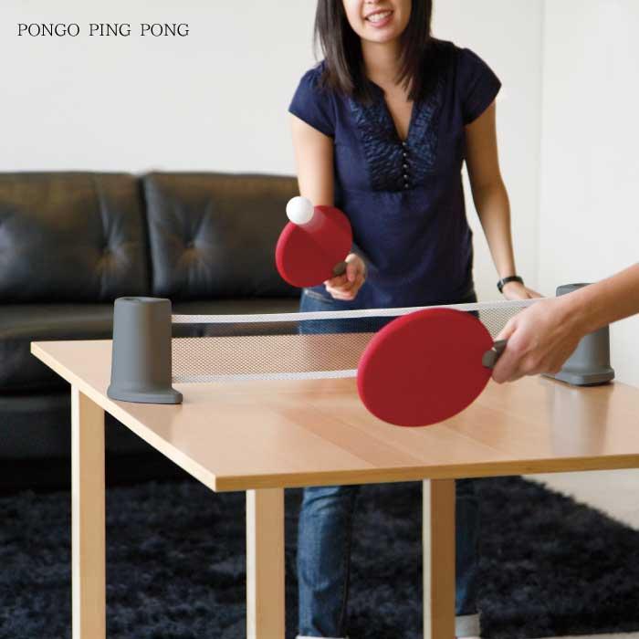卓球セット ポータブル / ポンゴ ポータブルピンポンセット レッド 2480280-909 【P10】【送料無料】