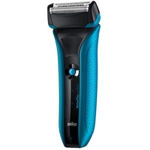 ブラウン WaterFlex メンズシェーバー お風呂剃り可 ブルー WF2s 3枚刃