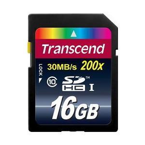 Transcend 爆安プライス SDHC UHS-I 16G 国内正規品 Premium CLASS10 30MB