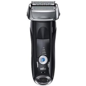 ブラウン シェーバー (3枚刃・充電式) シリーズ7 国内海外兼用お風呂剃り対応 往復式 深剃り キワゾリ刃 髭剃り 急速充電 ブラック