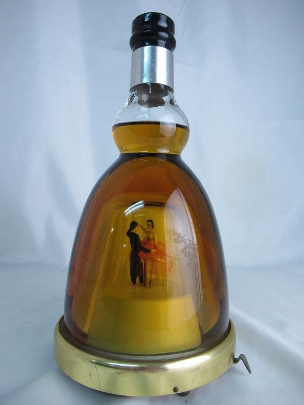【全品☆ポイント2倍☆☆】※訳有(オルゴール稼働不可) TOYO Dancing Bottle Whisky 45 東洋醸造 ダンシングボトル ウィスキー【中古】(未開封品)n1006