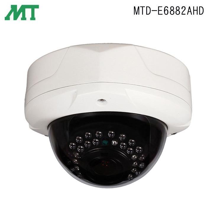 【送料無料】【代引き料無料】マザーツール フルハイビジョン 電動ズームレンズ搭載 防水型 AHD ドームカメラ MTD-E6882AHD
