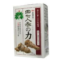 【代引料無料】田七人参の力40袋 1.5g×40袋-000008