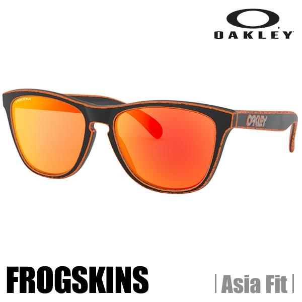 【ULS】【2019NEW】【正規代理店品】【保証書付】オークリー サングラス OAKLEY オークリー フロッグスキン (アジアンフィット) (Asia Fit) Raceworn Orange★Prizm Ruby OO9245-8954 (A)OAKLEY FROGSKINS【送料無料】【代引料無料】--015
