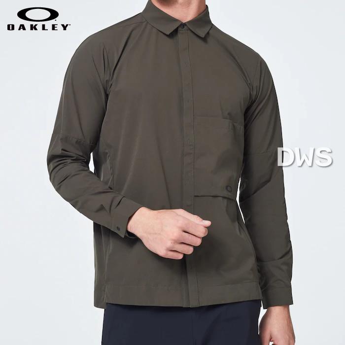 ストレッチ性能と軽量性を併せ持った素材を採用したロングスリーブシャツ 正規代理店品 2020年LINE UP オークリー メンズ 長袖シャツ RS Compartment FOA400874-86L Woven --015 お気にいる 代引料無料 DARK Shirts 授与 送料無料 NEW BRUSH