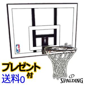 バスケットゴール スポルディング NBAコンボ バスケットゴール [SPALDING]【メーカー直送】【送料無料】【代引不可】【後払不可】【同梱不可】【バスケット ゴール】【smtb-k】【ky】
