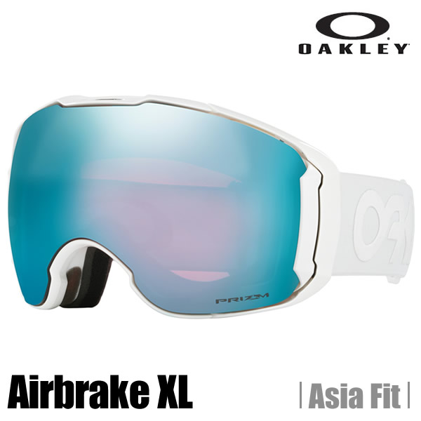 【ULTRA SALE】オークリー ゴーグル OAKLEY オークリー エアーブレーキ XL(アジアンフィット) (Asia Fit) factory pilot whiteout★prizm snow sapphire iridium  OO7078-18  (A)OAKLEY Airbrake XL Factory Pilot Whiteout Snow Goggle【送料無料】【代引料無料