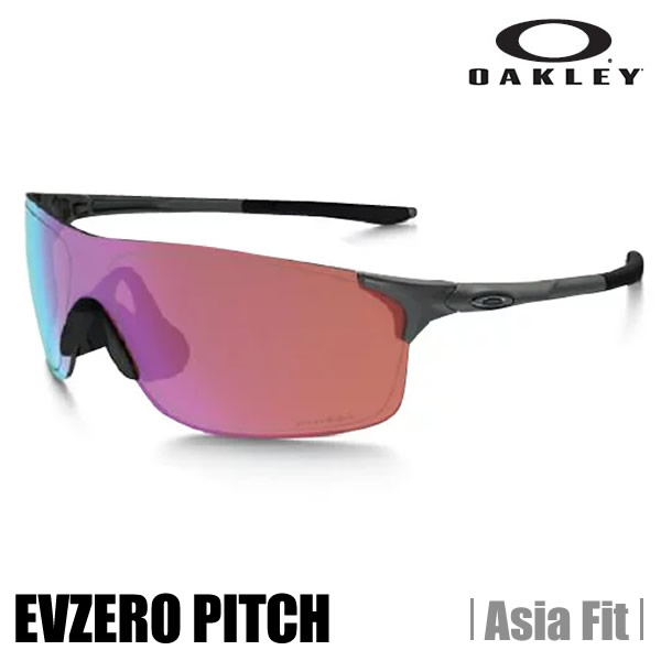 【ULS】【正規代理店品】【保証書付】【在庫あり】オークリー サングラス OAKLEY オークリー EVゼロ PITCH (アジアンフィット) OO9388-0538 matte steel★prizm golf (A)OAKLEY EVZero Pitch (Asia Fit)【送料無料】【代引料無料】--015