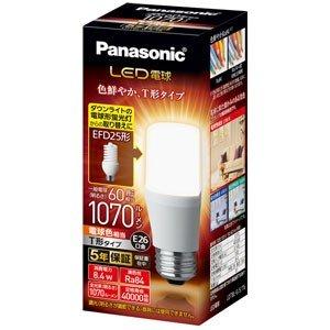 10個セット パナソニック LDT8LGST6 LED電球 T形タイプ 8.4W 電球色相当 T LDT8L-G 新作通販 E26口金 S 捧呈 全光束1070lm