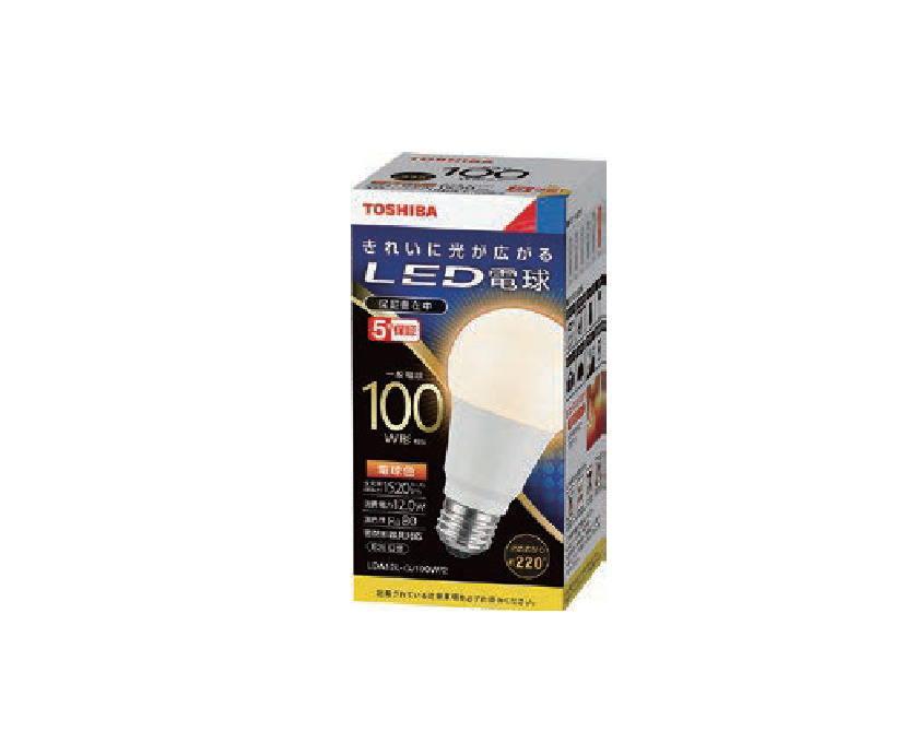 (10個セット・送料無料)LED電球 LDA12L-G/100W/2 東芝ライテック 電球色 E26口金 一般電球形 100W形相当 (LDA12LG100W2) (LDA14L-G/100Wの後継品)