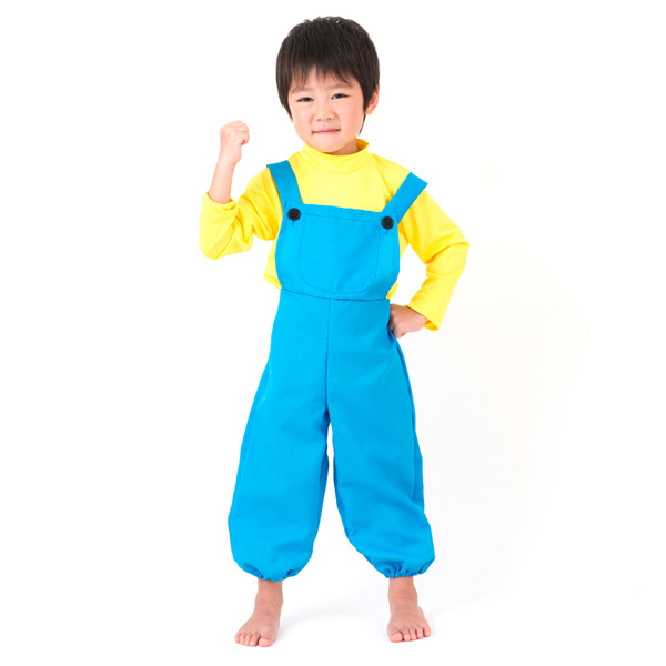 Halloween Costume 303.Kids Fancy Dress Halloween Dress Costumes Kids Boys Yellow Boys Boys Boys Children S Presentation Literary Clothes Yellow Blue Yellow Blue 60 Cm 70