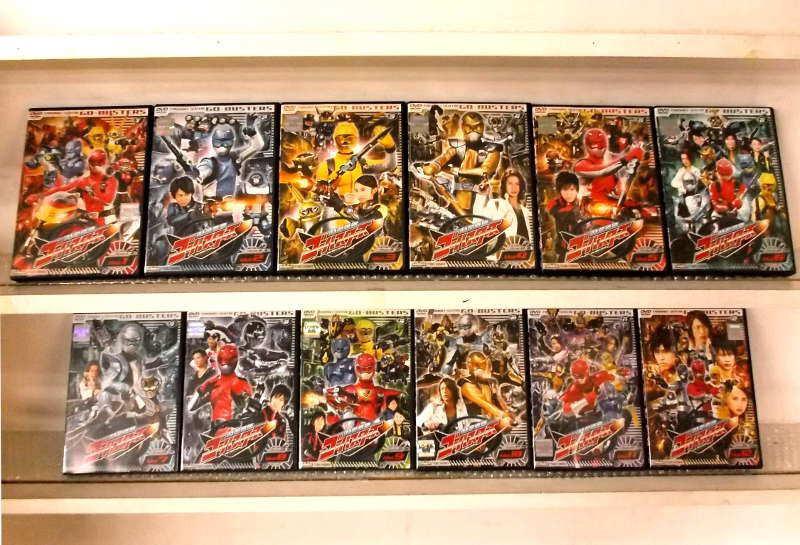 特命戦隊ゴーバスターズ 1~12 (全12枚)(全巻セットDVD)/中古DVD[アニメ/特撮DVD]【中古】【ポイント10倍♪7/13-20時~7/24-10時迄】