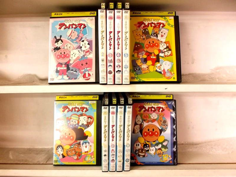 (日焼け)それいけ!アンパンマン'00 1~12 (全12枚)(全巻セットDVD)/中古DVD[アニメ/特撮DVD]【中古】