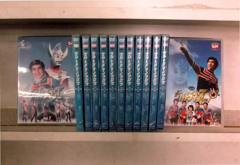(日焼け)ウルトラマンタロウ 1~13 (全13枚)(全巻セットDVD)/中古DVD[アニメ/特撮DVD]【中古】