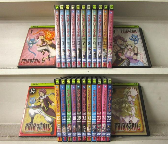 (日焼け)FAIRY TAIL フェアリーテイル 2nd Season 1~26 (全26枚)(全巻セットDVD)/中古DVD[アニメ/特撮DVD]【中古】