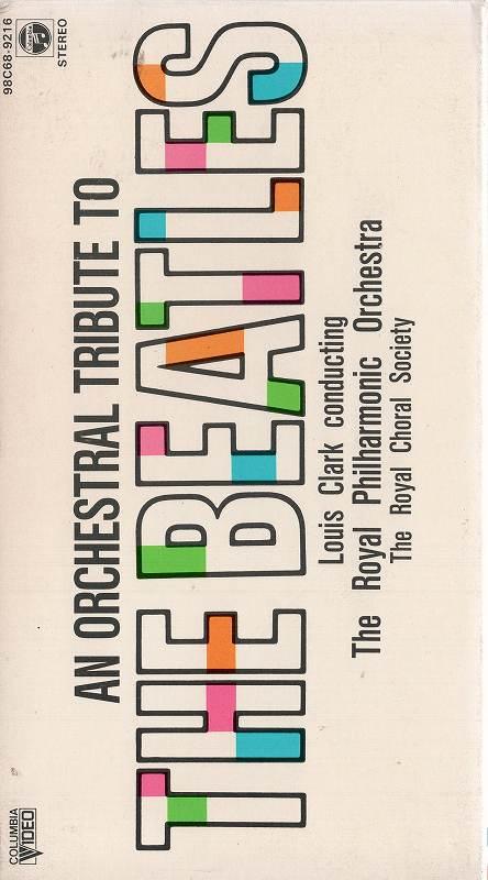 中古ビデオレンタル落ち VHSです ザ ビートルズ オーケストラ コンサート 中古ビデオ 中古 割り引き P10倍 9 20時~9 1時59分迄 11 市販 土 4