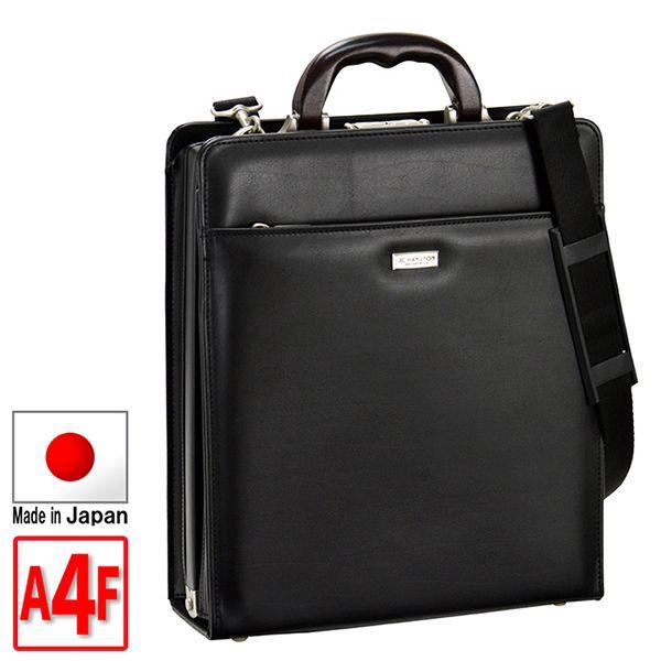 取寄品 ビジネスバッグ 本革 木手 天然素材 大開きダレス A4F 縦型 ハンドバッグ ショルダーバッグ 22310 メンズハンドバッグ 送料無料