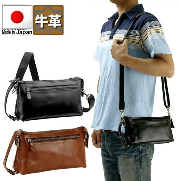 取寄品 ビジネスバッグ 本革 日本製 BC 尾イルヌメ2WAYメンズ セカンドバッグ ショルダーバッグ 25783 メンズセカンドバッグ 送料無料