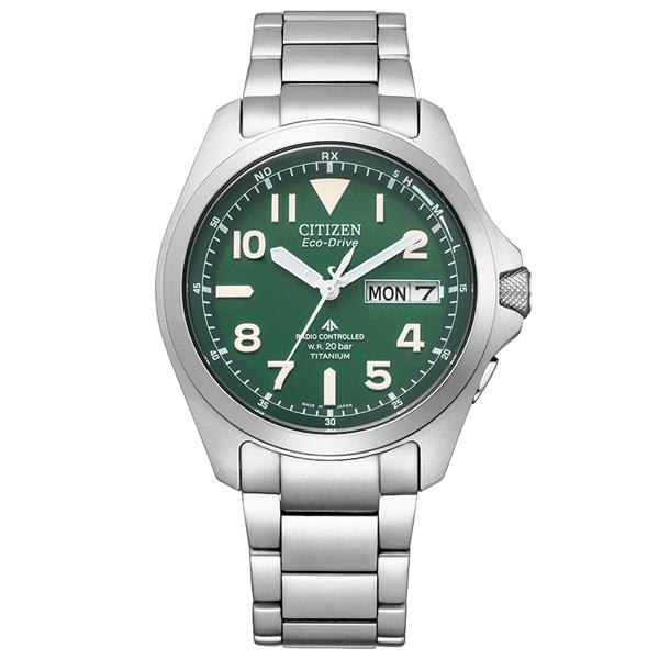 取寄品 正規品CITIZEN PROMASTER腕時計 シチズン プロマスター PMD56-2951 LAND エコドライブ電波時計 スーパーチタニウム 20気圧防水 メンズウォッチ 送料無料