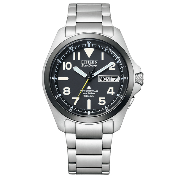 取寄品 正規品CITIZEN PROMASTER腕時計 シチズン プロマスター PMD56-2952 LAND エコドライブ電波時計 スーパーチタニウム デュラテクトDLC 20気圧防水 メンズウォッチ 送料無料