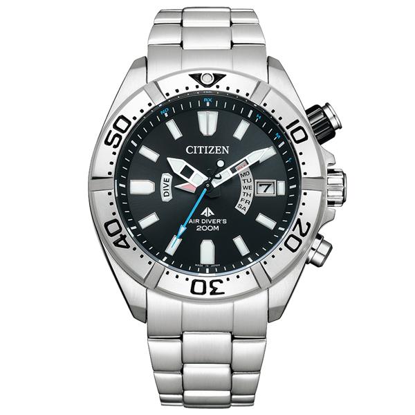 取寄品 正規品CITIZEN PROMASTER腕時計 シチズン プロマスター PMD56-3081 MARINE エコドライブ電波時計 ステンレス ダイバーズウオッチ メンズウォッチ 送料無料