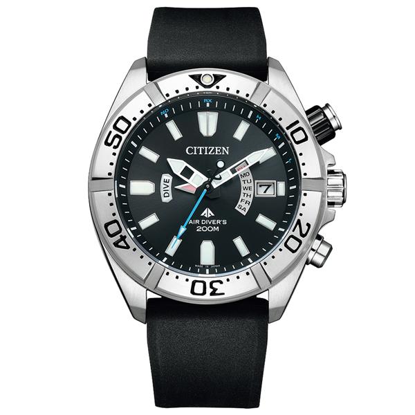 取寄品 正規品CITIZEN PROMASTER腕時計 シチズン プロマスター PMD56-3083 MARINE エコドライブ電波時計 ステンレス ダイバーズウオッチ ウレタンバンド メンズウォッチ 送料無料