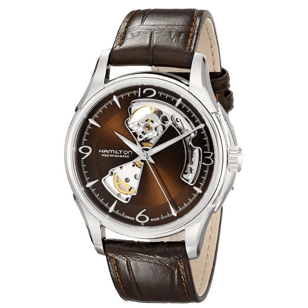 送料無料 取寄品 『1年保証』 HAMILTON 腕時計 ハミルトン 正規品 H32565595 ジャズマスター オープンハート Jazzmaster メンズ腕時計 自動巻き オートマティック Heart 全店販売中 Open