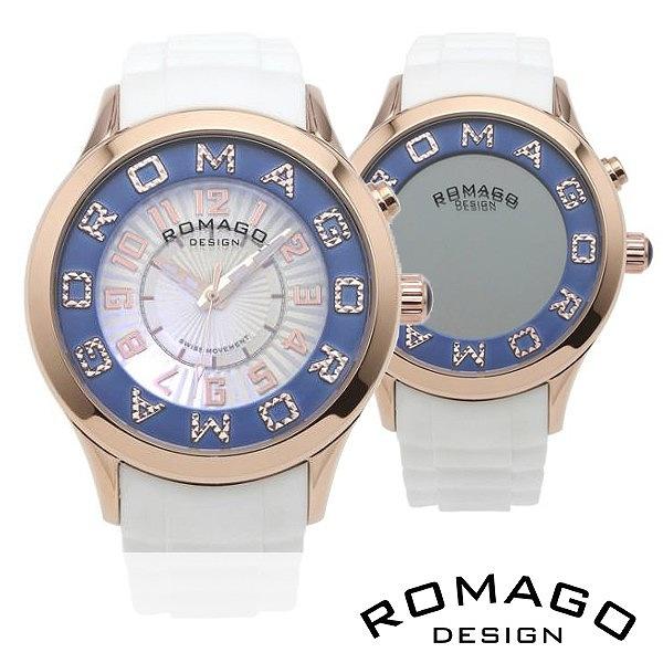 取寄品 正規品ROMAGO DESIGN腕時計ロマゴデザイン RM067-0162PL-RGBU アトラクション Attraction レディース腕時計 送料無料