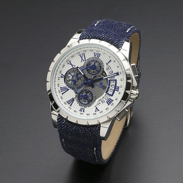 送料無料 取寄品 低廉 正規品 Salvatore Marra 腕時計 サルバトーレマーラ クロノグラフ 革ベルト 防水 BL AL完売しました。 SM13119D-SSWHBL メンズ腕時計