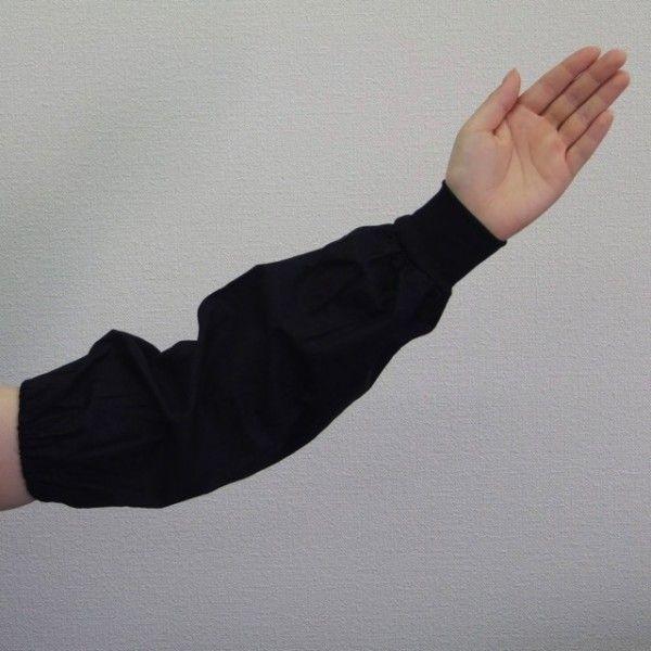 腕カバー 黒 ジャージ 120双 作業 事務 使い捨て アームカバー 腕ぬき まとめ買い 激安 最安 大量購入