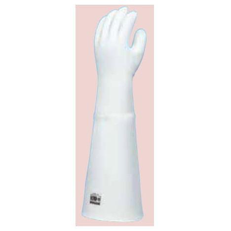 ダイローブ H200 55(1双) 耐熱用手袋 シリコーン製 裏地付 二重構造 ロングタイプ(長さ55cm) ダイヤゴム