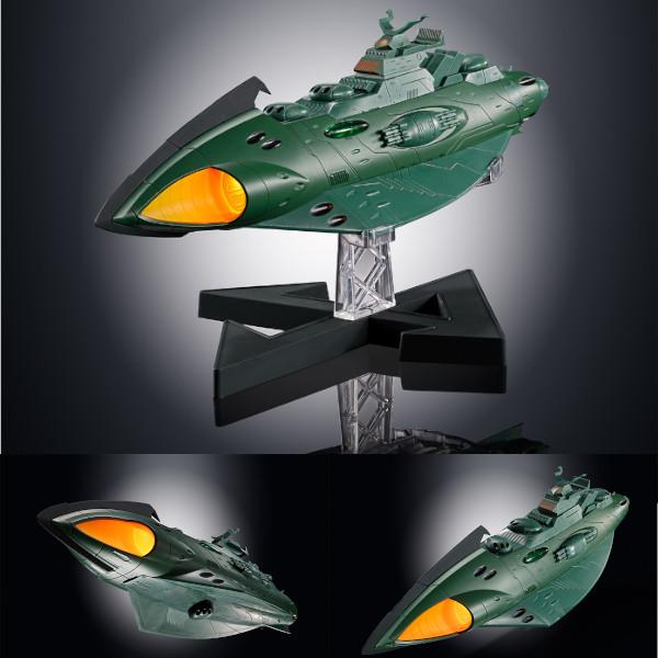 超合金魂 GX-89 ガミラス航宙装甲艦 【BANDAI SPIRITS(バンダイスピリッツ) 2019年11月予約】