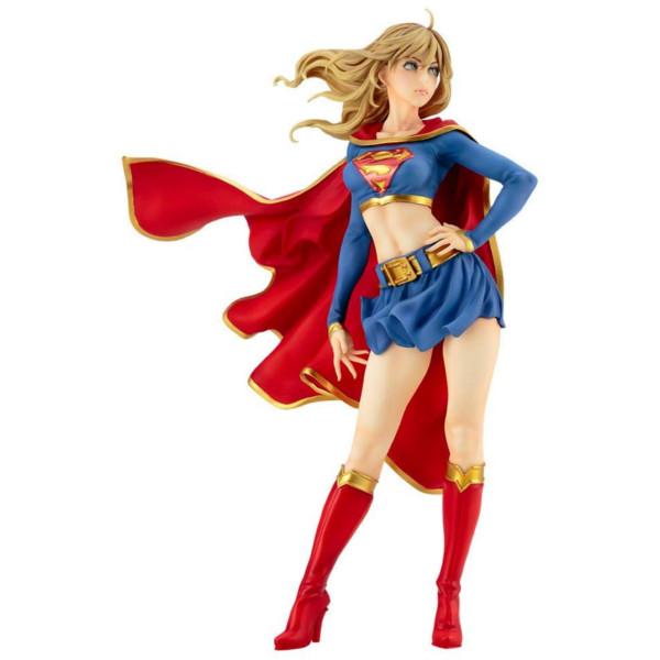 【キャッシュレス5%還元対象店】再販 DC COMICS美少女 DC UNIVERSE スーパーガール リターンズ 1/7スケールフィギュア 【コトブキヤ 2020年5月予約】