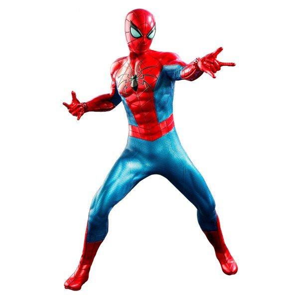 代引き不可 ビデオゲーム 全国どこでも送料無料 マスターピース Marvel's Spider-Man スパイダーマン ホットトイズ 2021年2月予約 IVスーツ版 店 アーマーMK スパイダー